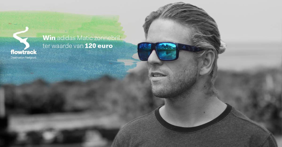 5402e364cb2f37 Win een adidas Matic zonnebril met Flowtrack